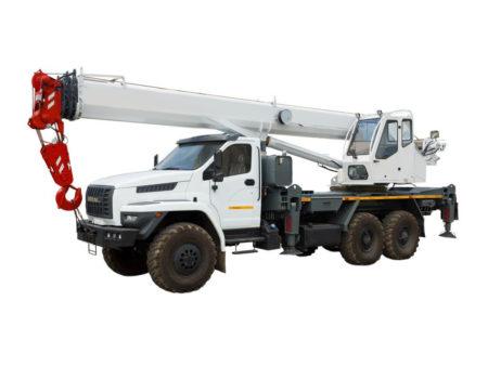 Купить Автокран УРАЛ-NEXT КС-55732-22 и другую дорожную технику по низкой цене в ООО «Дортехника».
