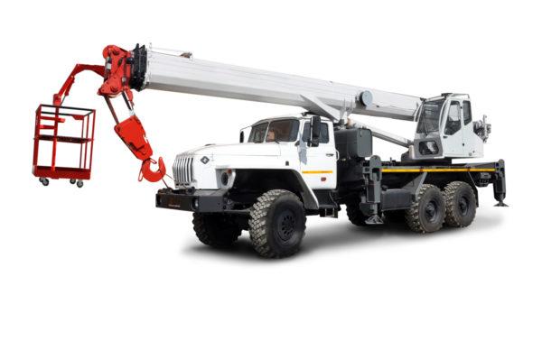Купить Кран-подъемник УРАЛ КС-55732-33 и другую дорожную технику по низкой цене в ООО «Дортехника».