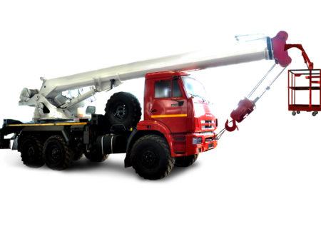Купить Кран-подъемник КамАЗ КС-45734-19 и другую дорожную технику по низкой цене в ООО «Дортехника».