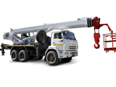 Купить Кран-подъемник КамАЗ КС-55732-33 и другую дорожную технику по низкой цене в ООО «Дортехника».