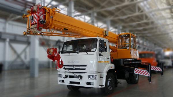 Купить Автокран КамАЗ КС-35714К-3 и другую дорожную технику по низкой цене в ООО «Дортехника».