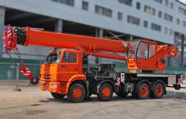 Купить Автокран КамАЗ КС-65719-1К и другую дорожную технику по низкой цене в ООО «Дортехника».