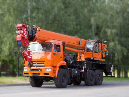 Купить Автокран КамАЗ КС-65719-5К и другую дорожную технику по низкой цене в ООО «Дортехника».
