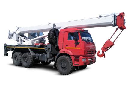 Купить Автокран КамАЗ КС-55732-22 и другую дорожную технику по низкой цене в ООО «Дортехника».