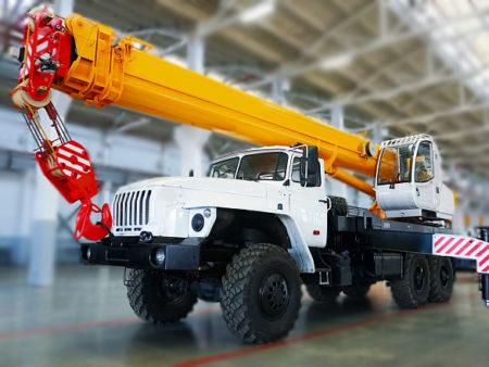 Купить Автокран УРАЛ КС-45717-1Р и другую дорожную технику по низкой цене в ООО «Дортехника».