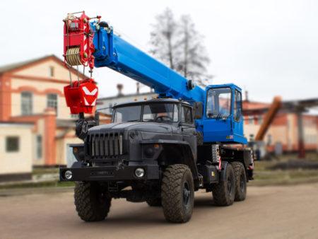 Купить Автокран УРАЛ КС-45719-3К и другую дорожную технику по низкой цене в ООО «Дортехника».