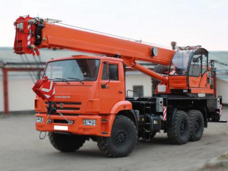 Купить Автокран КамАЗ КС-45719-7К и другую дорожную технику по низкой цене в ООО «Дортехника».