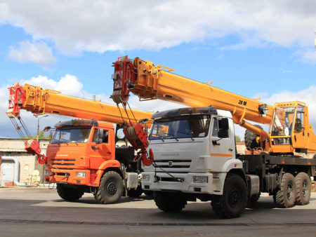 Купить Автокран КамАЗ КС-45717К-3H и другую дорожную технику по низкой цене в ООО «Дортехника».