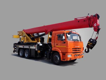Купить Автокран КамАЗ КС-5547К и другую дорожную технику по низкой цене в ООО «Дортехника».