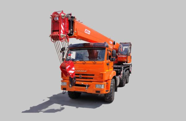 Купить Автокран КамАЗ КС-55713-5K-1 и другую дорожную технику по низкой цене в ООО «Дортехника».