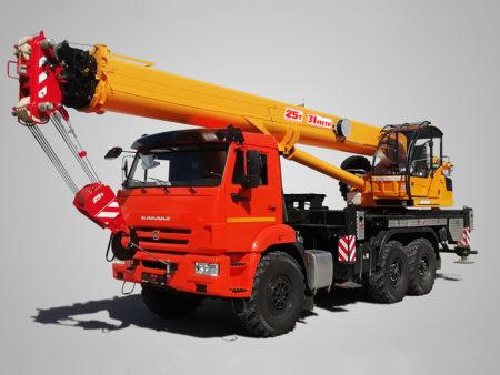 Купить Автокран КамАЗ КС-55713-5K-4 и другую дорожную технику по низкой цене в ООО «Дортехника».