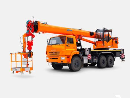 Купить Автокран КамАЗ КС-55713-5К-5В и другую дорожную технику по низкой цене в ООО «Дортехника».
