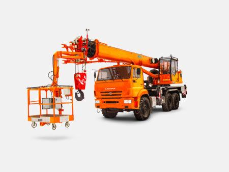 Купить Автокран КамАЗ КС-55729-5К-1Л и другую дорожную технику по низкой цене в ООО «Дортехника».