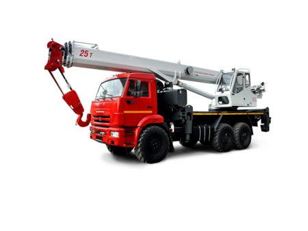 Купить Автокран КамАЗ КС-55732-28 и другую дорожную технику по низкой цене в ООО «Дортехника».