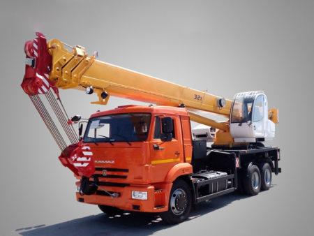 Купить Автокран КамАЗ КС-5576К и другую дорожную технику по низкой цене в ООО «Дортехника».