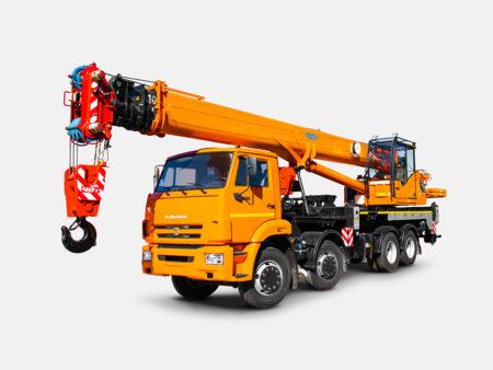 Купить Автокран КамАЗ КС-65719-1К-1 и другую дорожную технику по низкой цене в ООО «Дортехника».