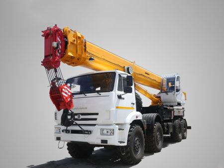 Купить Автокран КамАЗ КС-65740-4 и другую дорожную технику по низкой цене в ООО «Дортехника».