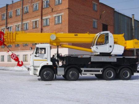 Купить Автокран КамАЗ КС-65740-8 и другую дорожную технику по низкой цене в ООО «Дортехника».