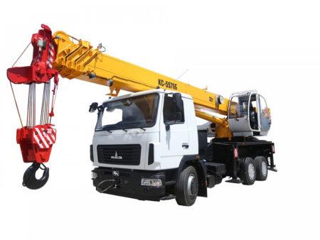 Купить Автокран МАЗ КС-5576Б и другую дорожную технику по низкой цене в ООО «Дортехника».