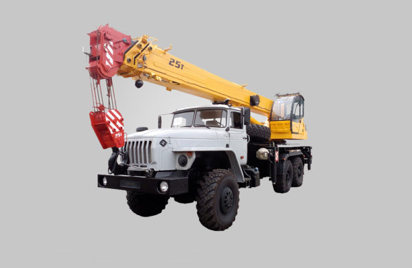 Купить Автокран УРАЛ КС-5576-3-21 и другую дорожную технику по низкой цене в ООО «Дортехника».