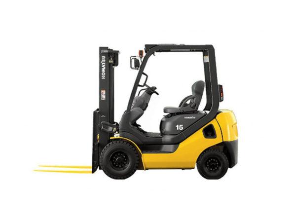 Купить Бензиновый погрузчик KOMATSU FG15HT-21 и другую дорожную технику по низкой цене в ООО «Дортехника».