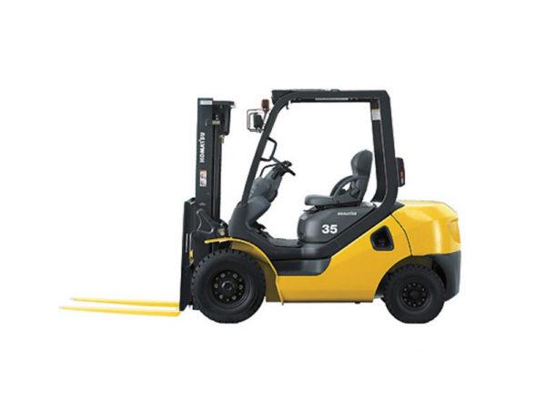 Купить Бензиновый погрузчик KOMATSU FG35T-10 и другую дорожную технику по низкой цене в ООО «Дортехника».