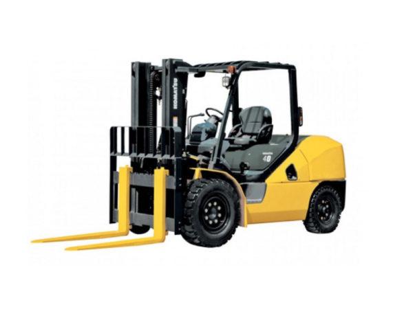 Купить Бензиновый погрузчик KOMATSU FG40T-10 и другую дорожную технику по низкой цене в ООО «Дортехника».