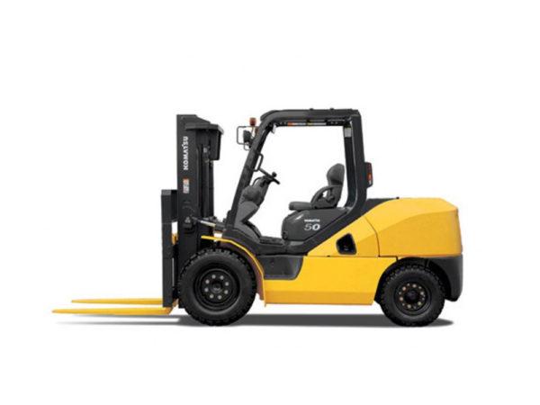 Купить Бензиновый погрузчик KOMATSU FG50AT-10 и другую дорожную технику по низкой цене в ООО «Дортехника».