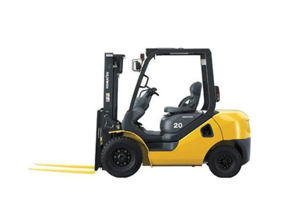 Купить Дизельный погрузчик KOMATSU FD20T-17 и другую дорожную технику по низкой цене в ООО «Дортехника».