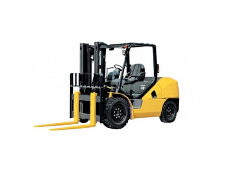 Купить Дизельный погрузчик KOMATSU FD45YT-10 и другую дорожную технику по низкой цене в ООО «Дортехника».