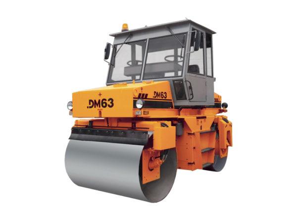 Купить Каток вальцовый DM-63 и другую дорожную технику по низкой цене в ООО «Дортехника».