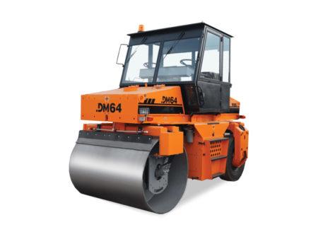 Купить Каток комбинированный вибрационный DM-64 и другую дорожную технику по низкой цене в ООО «Дортехника».
