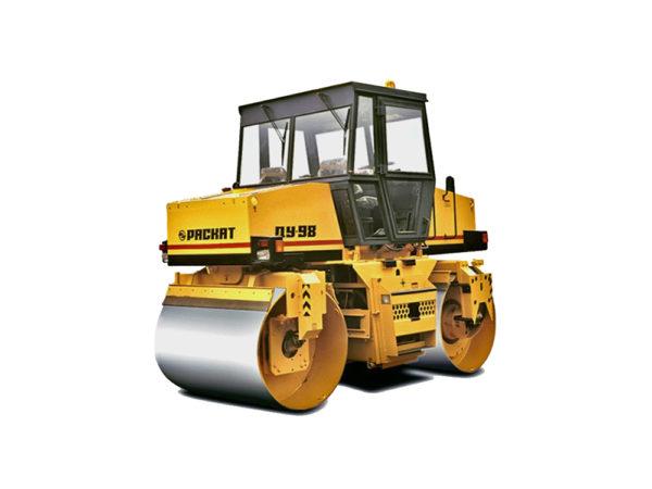 Купить Каток вальцовый ДУ-98 и другую дорожную технику по низкой цене в ООО «Дортехника».