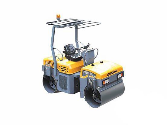 Купить Каток тротуарный XG6031D и другую дорожную технику по низкой цене в ООО «Дортехника».