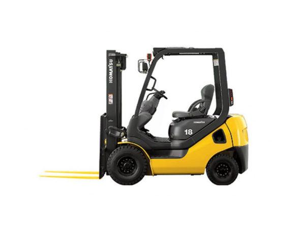 Купить Бензиновый погрузчик KOMATSU FG18T-21 и другую дорожную технику по низкой цене в ООО «Дортехника».