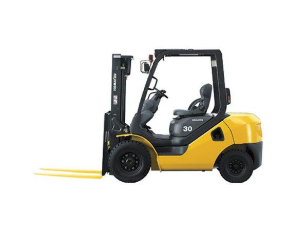 Купить Бензиновый погрузчик KOMATSU FG30T-17 и другую дорожную технику по низкой цене в ООО «Дортехника».