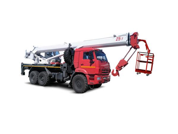 Купить Кран-подъемник КамАЗ КС-55732-22 и другую дорожную технику по низкой цене в ООО «Дортехника».