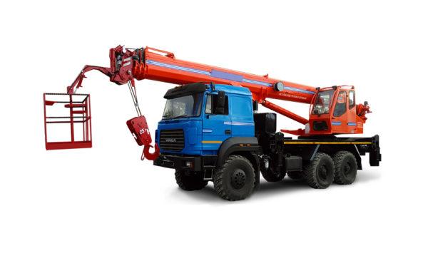 Купить Кран-подъемник УРАЛ KS-55732-28 и другую дорожную технику по низкой цене в ООО «Дортехника».
