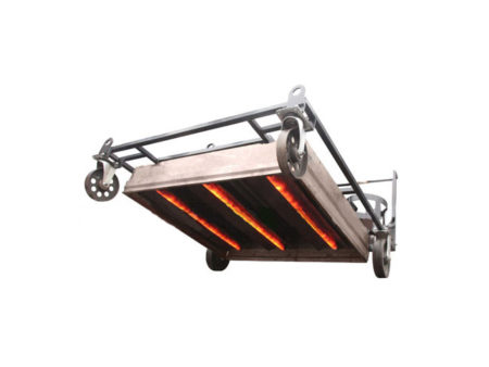 Купить Инфракрасный площадочный разогреватель асфальта для ремонта дорог в ООО Дортехника.