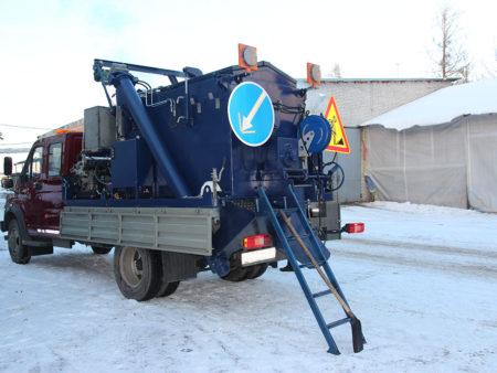 Купить Мобильное оборудование для ямочного ремонта «БАСТИОН-УЯР» для ремонта дорог в ООО Дортехника.