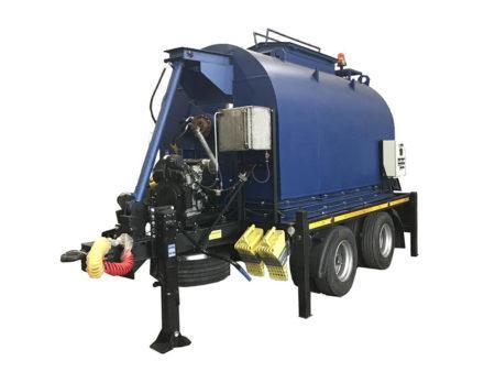 Купить Установка для транспортировки литого асфальтобетона «БАСТИОН-ЛА-04» для ремонта дорог в ООО Дортехника.