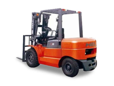 Купить Бензиновый погрузчик HELI CPQD40 и другую дорожную технику по низкой цене в ООО «Дортехника».