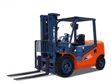 Купить Дизельный погрузчик HELI CPCD50NH и другую дорожную технику по низкой цене в ООО «Дортехника».