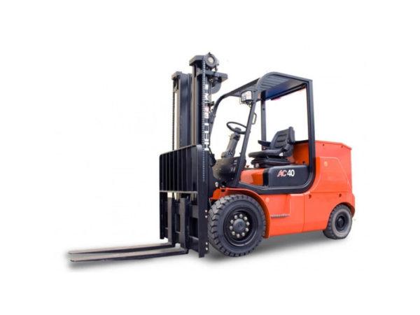 Купить Электропогрузчик HELI CPD40-B2 (4-Х опорный) и другую дорожную технику по низкой цене в ООО «Дортехника».