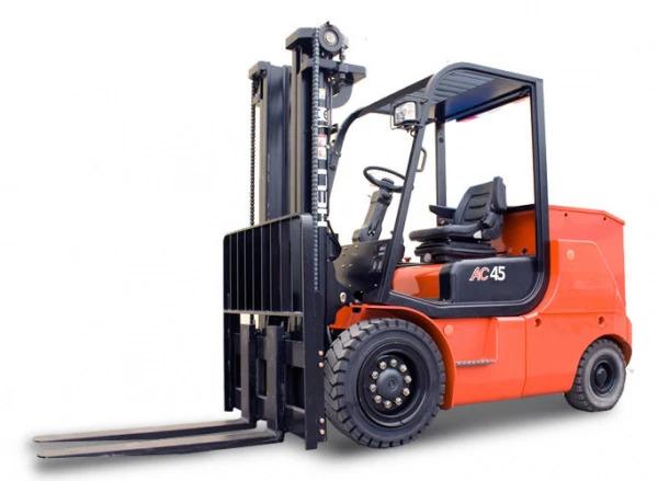 Купить Электропогрузчик HELI CPD45-B2 (4-Х опорный) и другую дорожную технику по низкой цене в ООО «Дортехника».