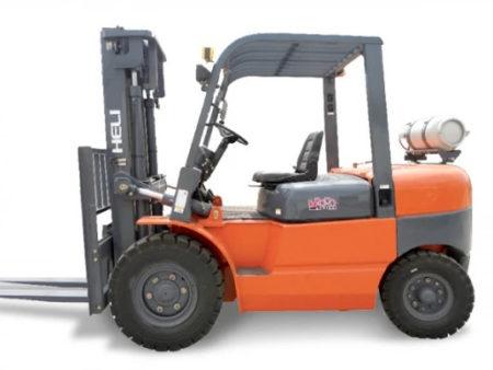 Купить Газ/бензиновый погрузчик HELI CPQYD45 и другую дорожную технику по низкой цене в ООО «Дортехника».