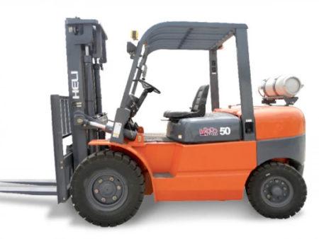 Купить Газ/бензиновый погрузчик HELI CPQYD50-(05) и другую дорожную технику по низкой цене в ООО «Дортехника».