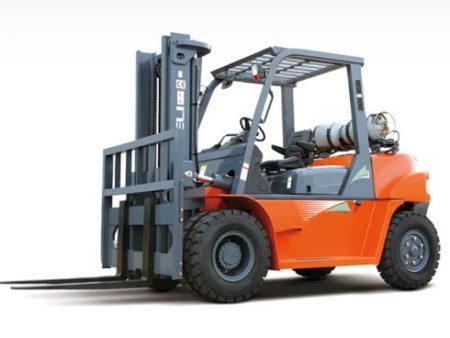 Купить Газ/бензиновый погрузчик HELI CPQYD50G и другую дорожную технику по низкой цене в ООО «Дортехника».
